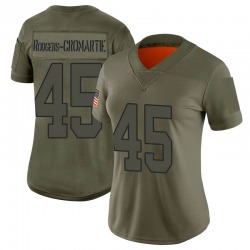 Limited Dominique Rodgers-Cromartie Women's Washington Redskins Camo 2019 Salute to Service Jersey - Nike