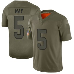 Limited Tress Way Youth Washington Redskins Camo 2019 Salute to Service Jersey - Nike